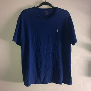 Blue Polo TShirt Size Large